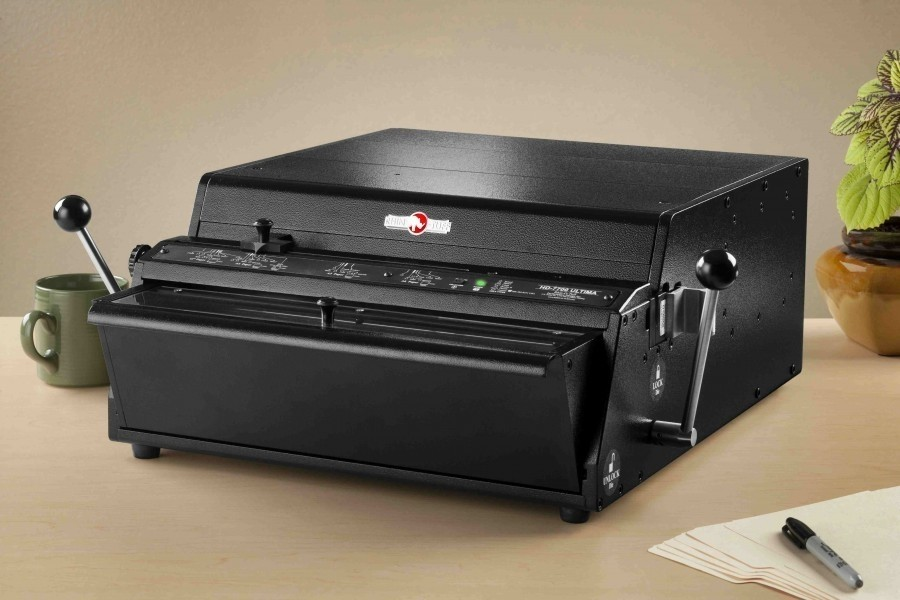 HD7700 ONYX Ultima Punch For Wire, Comb & Spiral Binding