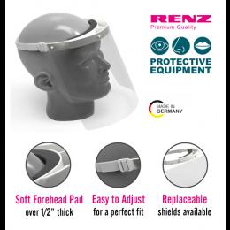 Renz Protective Face Shield (1 Head Strap/1 Face Shield